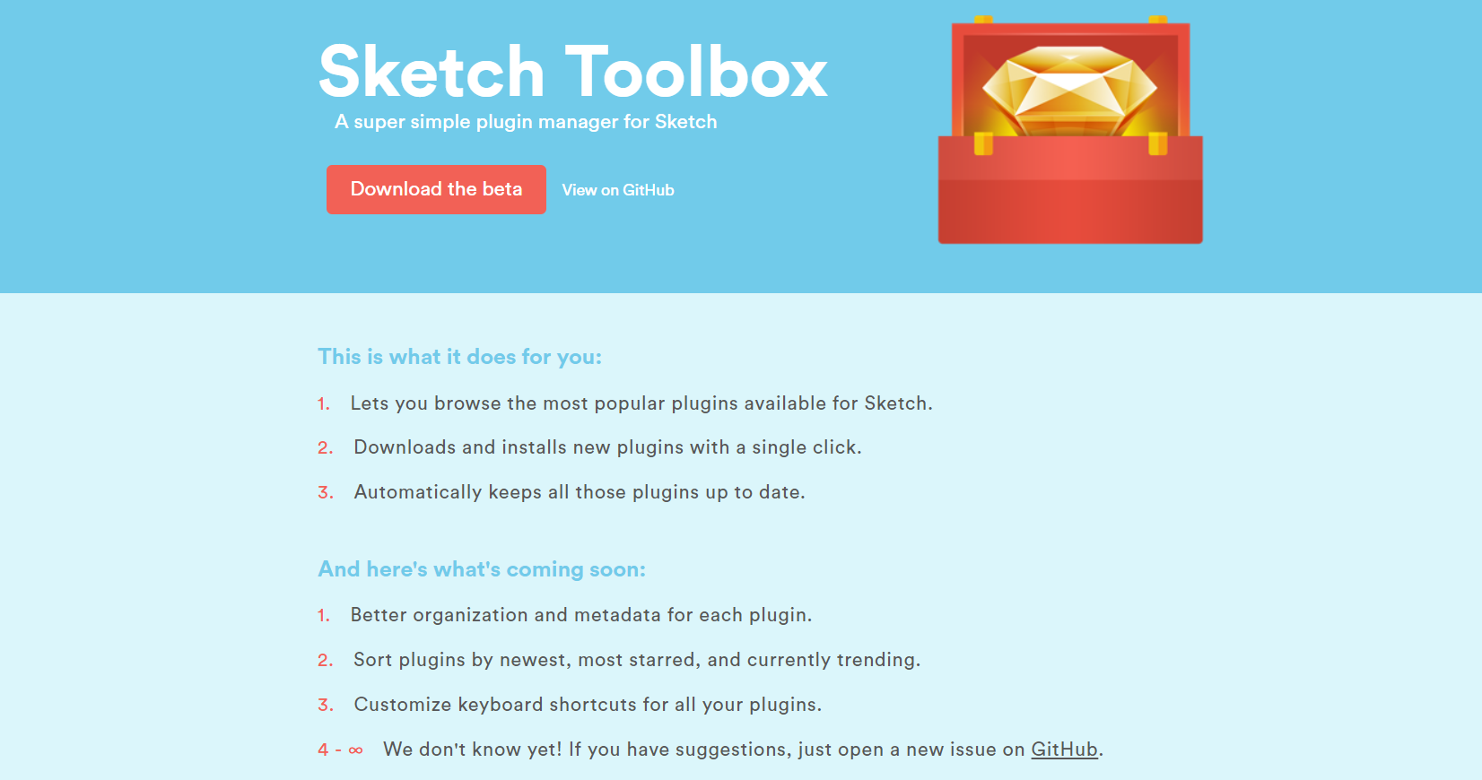 Sketch Toolbox website